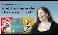What does it mean when a book is out of print?