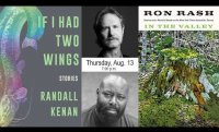 Randall Kenan & Ron Rash in conversation