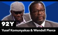 Yusef Komunyakaa and Wendell Pierce with Nicole Cooley  (Full Event)