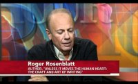 Journalist, Author Roger Rosenblatt Outlines His 4 Reasons to Write