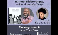 The Max Ritvo Poetry Prize Presents Michael Kleber-Diggs, author of WORLDLY THINGS