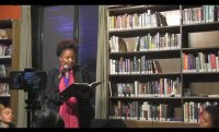 US Poet Laureate Tracy K. Smith at The Bookworm, Beijing