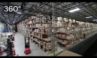360 Video: Inside a book distribution warehouse
