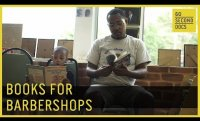 Books for Barbershops | Barbershop Books // 60 Second Docs