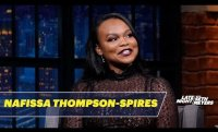 Nafissa Thompson-Spires Writes with the TV On