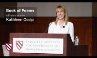 Kathleen Ossip | Book of Poems || Radcliffe Institute
