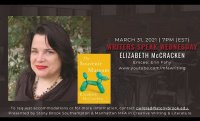 WRITERS SPEAK WEDNESDAY: ELIZABETH McCRACKEN
