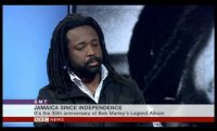 Marlon James on A Brief History of Seven Killings about Bob Marley on BBC WORLD TV's GMT 23/10/14