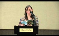 College of DuPage: Writers Read series - Leigh Stein