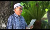 Poet Juan Felipe Herrera reads 'Five Directions to My House'
