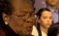 Maya Angelou - White House Christmas 2005 - Music by Charlie Barnett