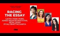 Racing the Essay with Cathy Park Hong, Aimee Nezhukumatathil, Sejal Shah, and Piyali Bhattacharya