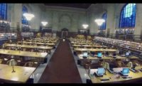 Flying a Drone around The NY Public Library