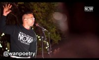 "Christopher Diaz - ""again"" @WANPOETRY"