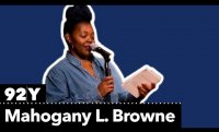 Poet Mahogany L. Browne reads from her work