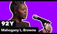 Mahogany L. Browne reads Ntozake Shange