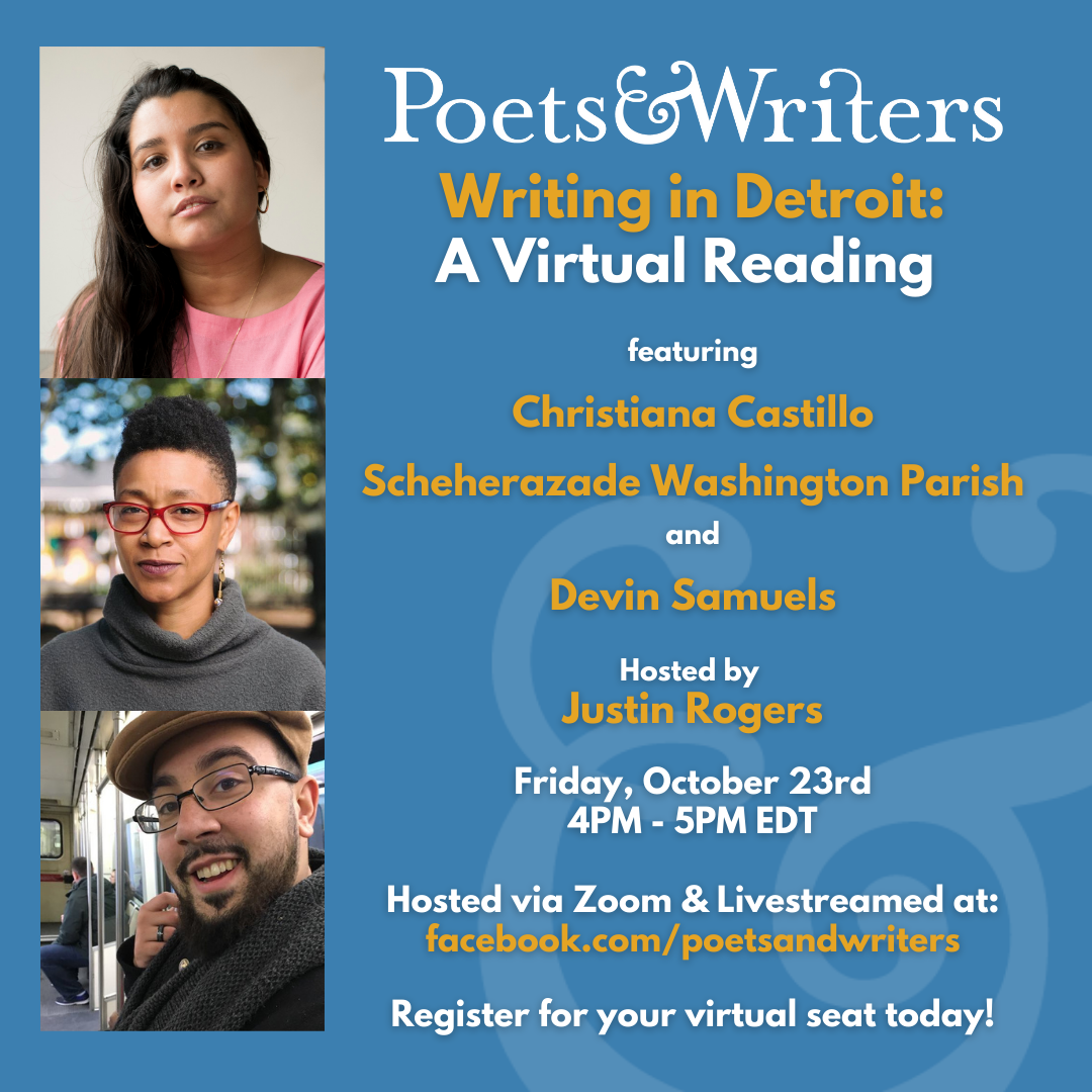Writing in Detroit Virtual Reading